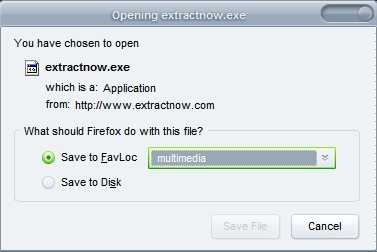 set download folders firefox