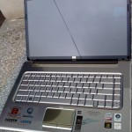 hp dv5 front view