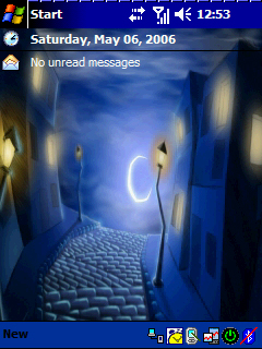 Pocket PC Theme - Street