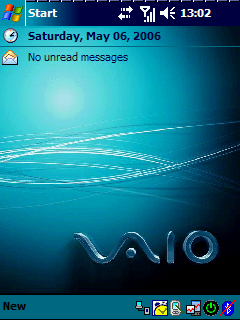 Pocket PC Theme - Vaio