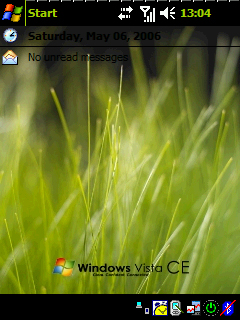 Pocket PC Theme - Vista Bliss