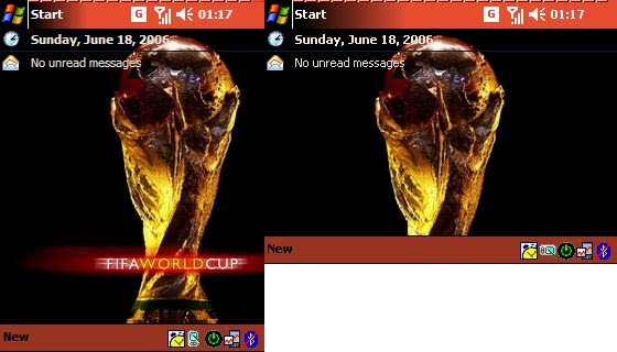 Pocket PC Theme - Fifa 2006 Cup
