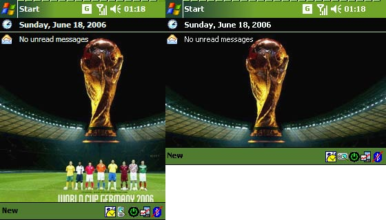 Pocket PC Theme - Fifa 2006 Cup 2